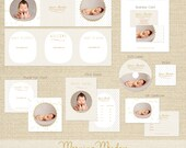 MORNING MEADOW Premade Photography Marketing Template Set INCLUDING Logo