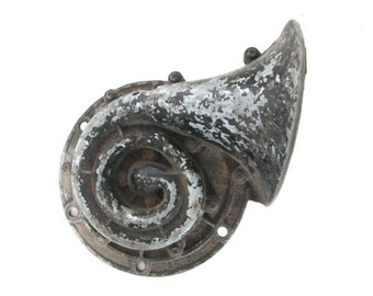 Antique Car Horn Sparton Metal Horn Vintage Automobile Parts