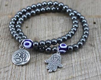 Evil Eye Gypsy Boho Handcrafted Ecofashion Jewelry By Sariblue