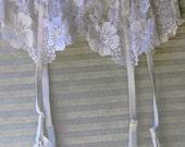white  garter  size med