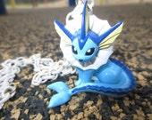 Vaporeon Pokemon Necklace