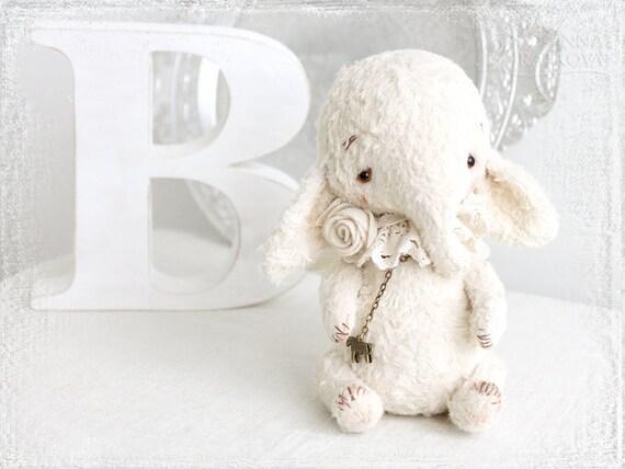 PATTERN Download to create teddy like Elefant Angel 7 inch