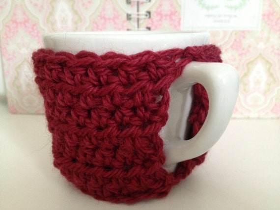 Crocheted Mug Sweater