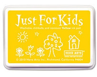 Hero Arts Just for Kids Yellow Washable Ink