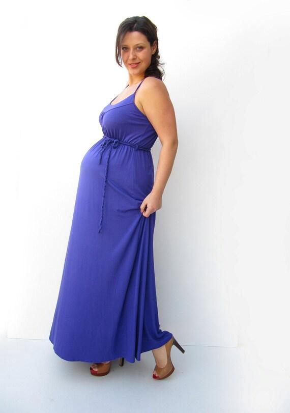 Summer Maxi Maternity DressMaternity Maxi Dress By