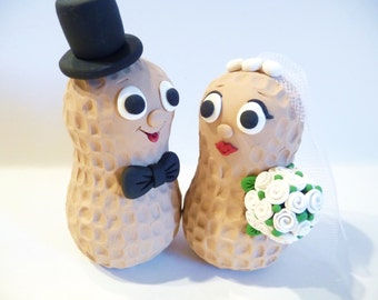 Peanut Bride and Goom - Choose Your Colors