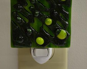 Green on Green on Green Night Light