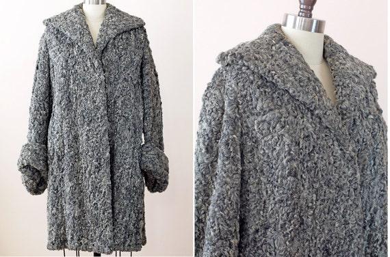 1960s Persian Lamb Coat / 60s Fur Coat / Fur by WearAreTheyNow