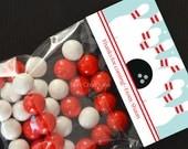 Personalized Bowling Treat Bag Topper - DIY Printable Digital File