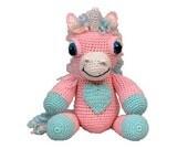 PDF Amigurumi Pattern Unicorn - Crochet Unicorn Pattern - (7327) Td creations