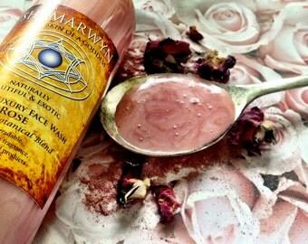 Rose Face Wash/ Creamy Botanical Blend 8oz.