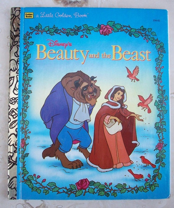 Love Each Other When Two Souls: Beauty And The Beast Little Golden Book Disney's Beauty