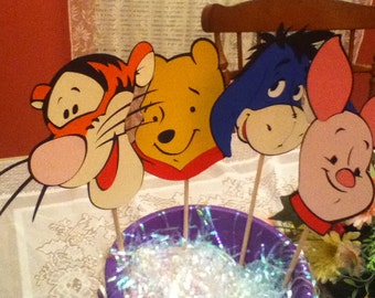 Cute  Pooh  centerpiece