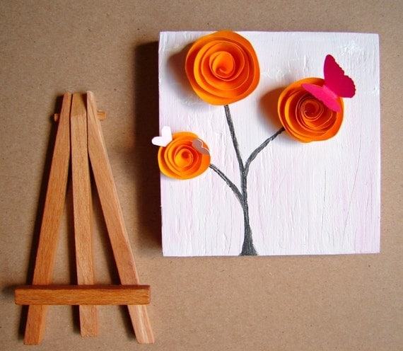 Items Similar To Tangerine Bright Orange Home Decor