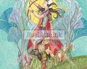 Artemis - Strength - A7 Card - Mythology