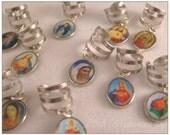 Saint Image Charm Ear Cuff