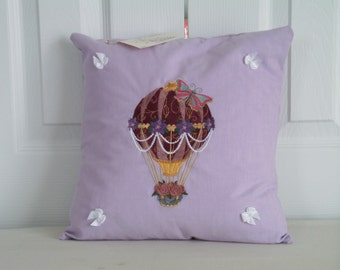 """CUSTOM MADE - 12"""" x 12""""  Embroidered Decorative Pillow"""