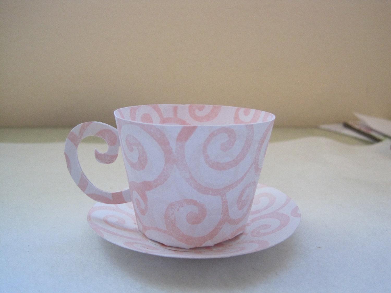10 tea cup party favors for Teacup party favors