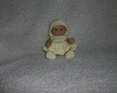 Dress Set For Berenguer 5 Inch Doll Crochet