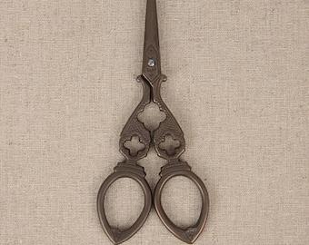 Zakka Antique Scissors Sweing Emroidery Scissors Vintage DesignTools Supplies