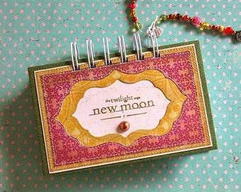 Twilight Saga notebook handmade gift