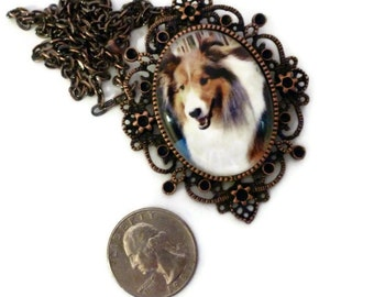 Dog Photo Necklace, Personalized Pet Photo, Pet Memorial, Large Oval Glass Pendant, Dog Lover, Pet Lover, Loss of Pet, Horse Memorial