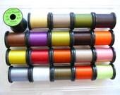 Uni-Thread.....20 Spool Combo..........Size 8/0.....50 yds. per each spool