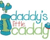 Daddy's little Caddy Onesie or Shirt Made to order