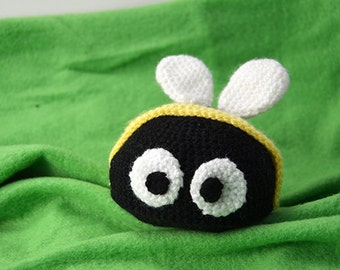 Bumblebee Crochet Pattern, Bee Crochet Pattern, Crochet Bumblebee Amigurumi Pattern, Crochet Bumblebee Pattern, Bee Amigurumi, Crochet Bee