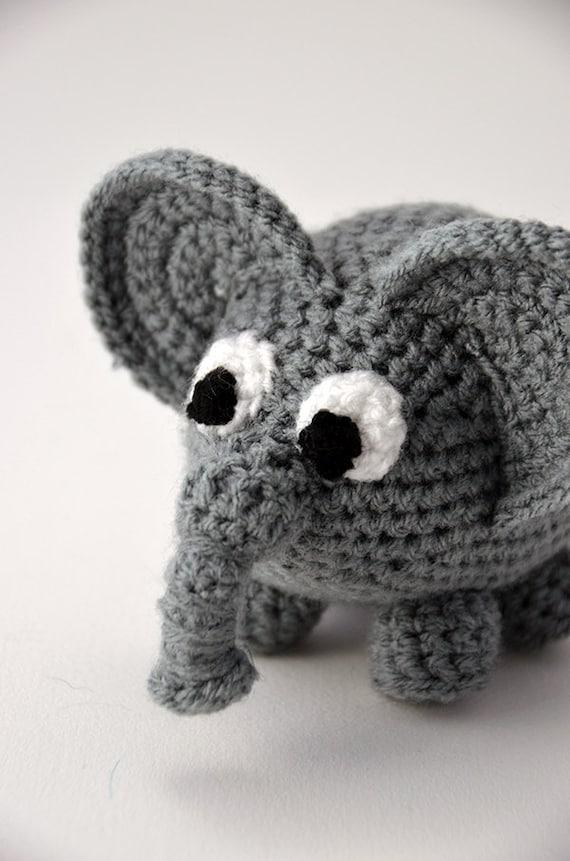 Amigurumi Zoo Animals : Elephant crochet pattern amigurumi