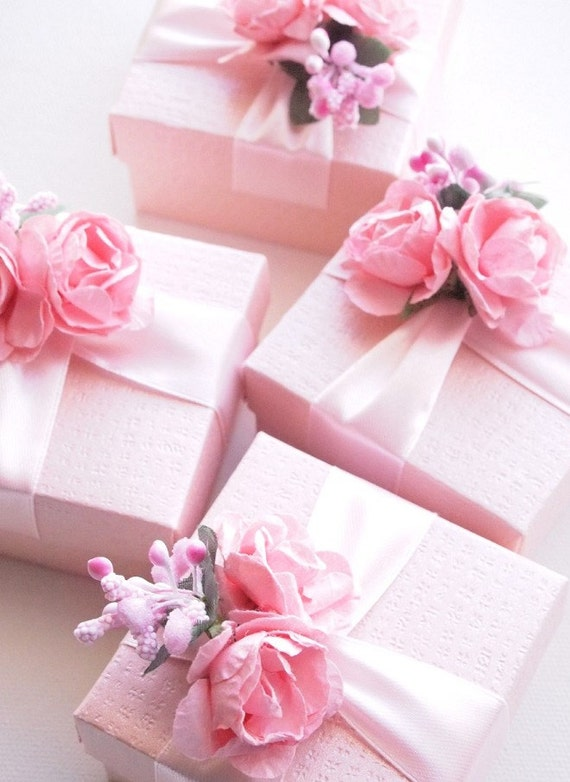 Pink White Decor Roses For Craft Room