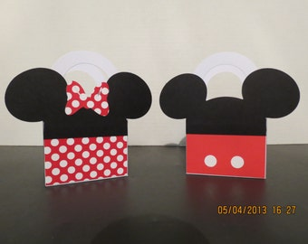 Mickey & Minnie Mouse Favor/Treat Bags (set of 12)