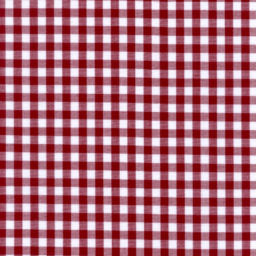 60 burgundy gingham check fabric 1 4 check 20 for Gingham fabric