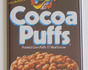 Cocoa Puffs Cereal Box Fridge Magnet