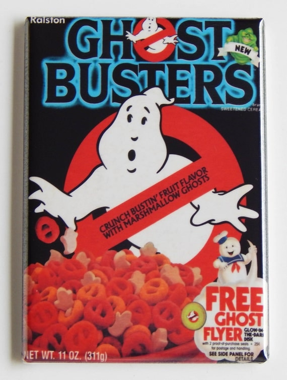 Ghostbusters Cereal Box Fridge Magnet (2 x 3 inches)