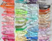 no crease elastic hair ties. set of  92. all colors.