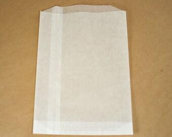 Set of 25 Medium White Glassine Bags
