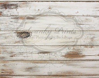 IN STOCK / Fast Shipping / 4ft x 4ft Vinyl Photography Backdrop / Worn Wood