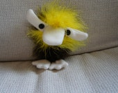 Bryan Brion- Fuzzy Finger Puppet from Such Things Puppets