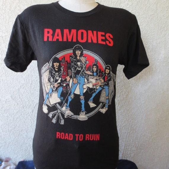 Ramones Vintage T Shirt 86