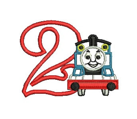 Snap Thomas Applique Embroidery Design Thomas The Tank Engine