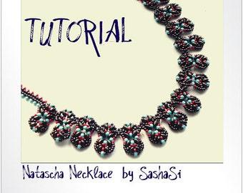 Beading Tutorial DOWNLOAD- Natacha Necklace
