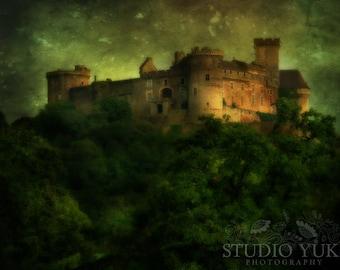 Fantasy Fairy Tale Castle, Surreal, Enchanted, Magical, Dark, Dreamy, Fine Art Photography, Jareths Castle