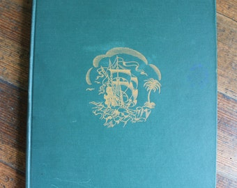 Vintage Children's History Book - The Romance of Discovery (Hendrik Willem Van Loon - 1917)