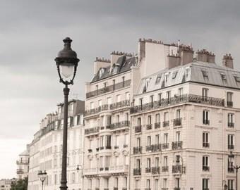 Paris Photography - Classic Neutral Decor Photograph, Urban Home Decor, Travel Photo, Wall Art, French Architecture