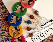 Pug Love NON SNAG Stitch Markers