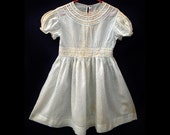 """1940s Celebrity Designer GAIL PATRICK """"Enchanted Cottage"""" Little Girls' Vintage Dress"""