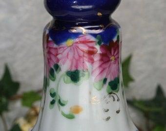 Vintage Painted Porcelain Salt Shaker