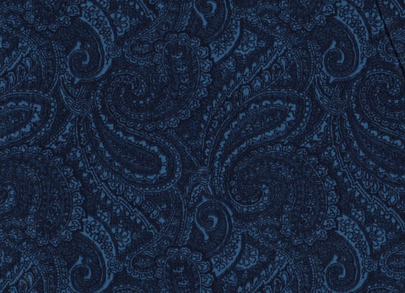 1 yard 108 Quilt backing Paisley Fabric Blue by  : il570xN464428351d9pl from www.etsy.com size 570 x 413 jpeg 96kB