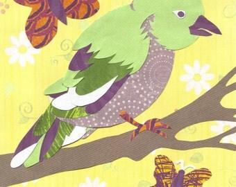 Bird Woodland Creature Printable PDF